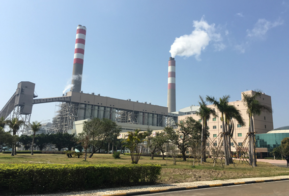 Zhuhai Power Plant of Guangdong Yudean Group Co., Ltd. 2 * 700MW Electric Bag Composite dust collector