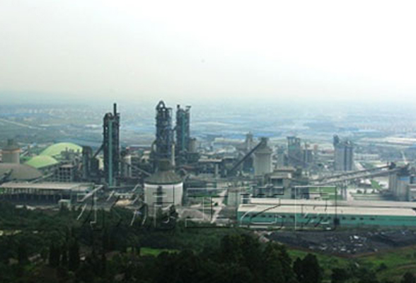 Lafarge cement NO. 3 kiln tail/kiln head bag replacement project in Dujiangyan